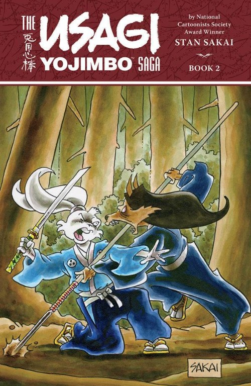 USAGI YOJIMBO SAGA BOOK 02