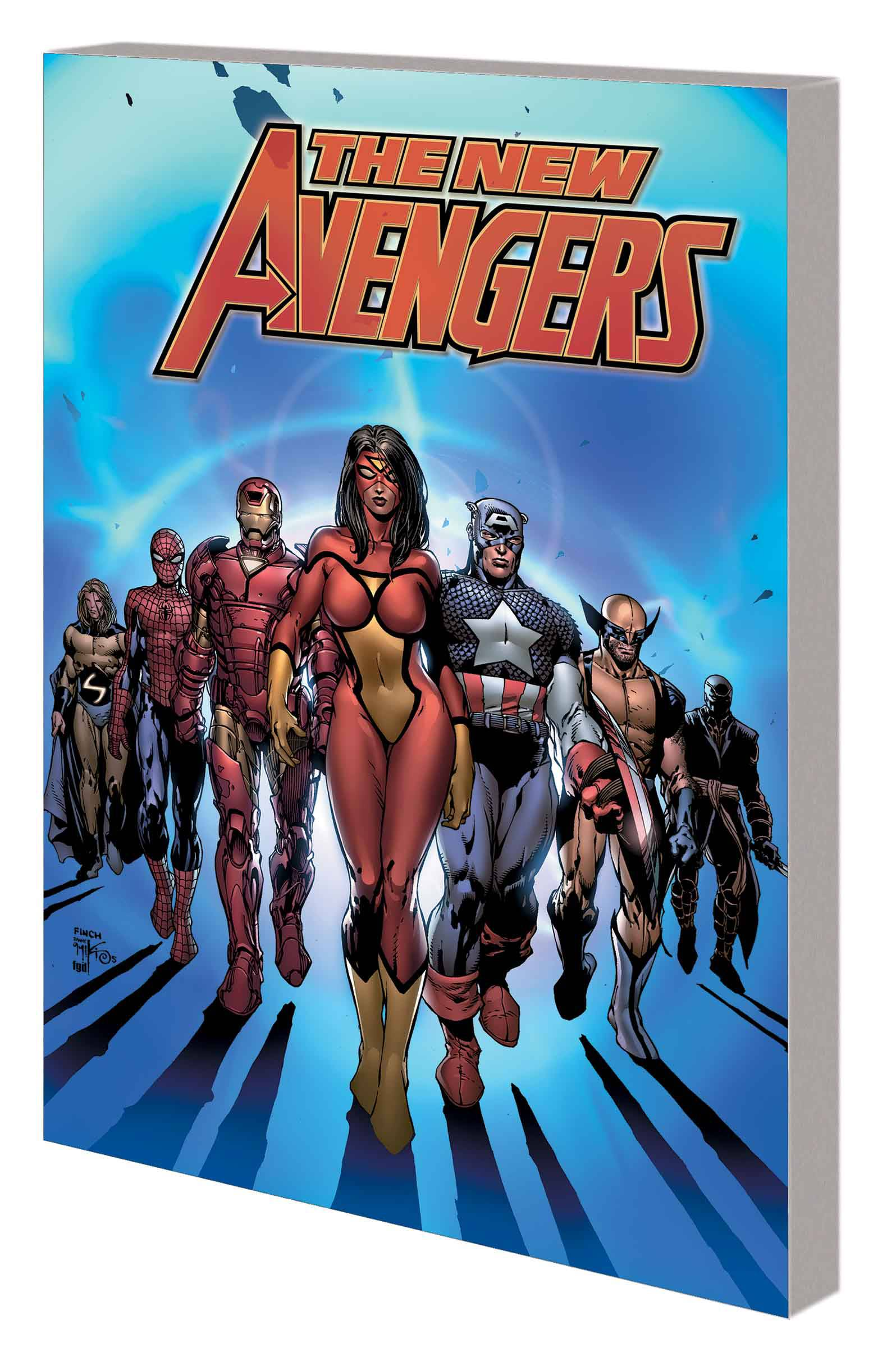 NEW AVENGERS BY BRIAN MICHAEL BENDIS: THE COMPLETE COLLECTION VOL 01