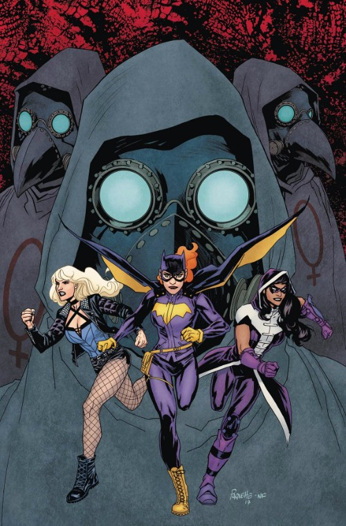 BATGIRL AND THE BIRDS OF PREY#17