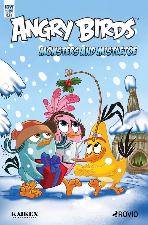 ANGRY BIRDS COMICS QUARTERLY: MONSTERS AND MISTLETOE