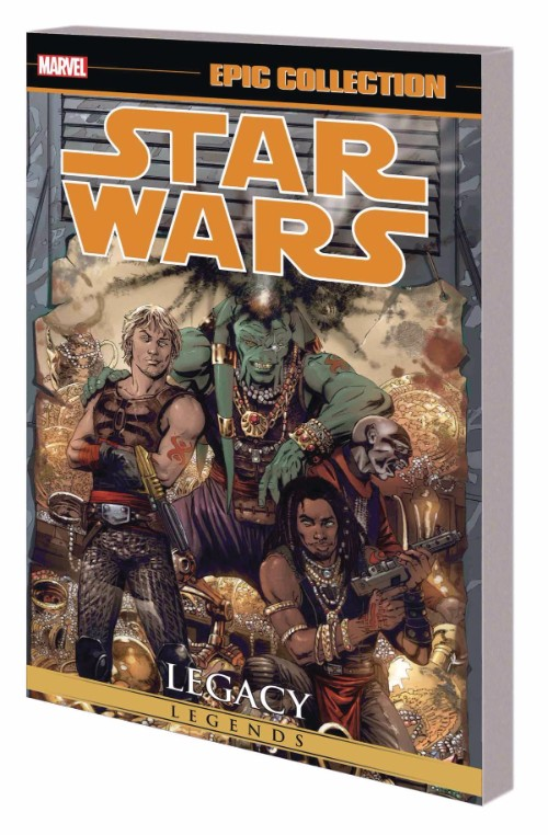 STAR WARS LEGENDS EPIC COLLECTION: LEGACYVOL 02