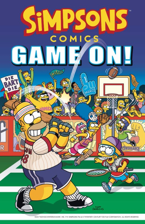 SIMPSONS COMICS [VOL 25:] GAME ON!