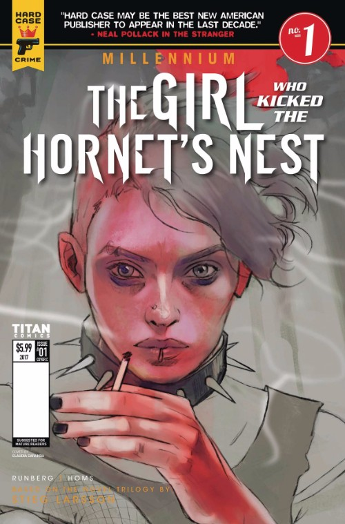 MILLENNIUM--THE GIRL WHO KICKED THE HORNET'S NEST#1