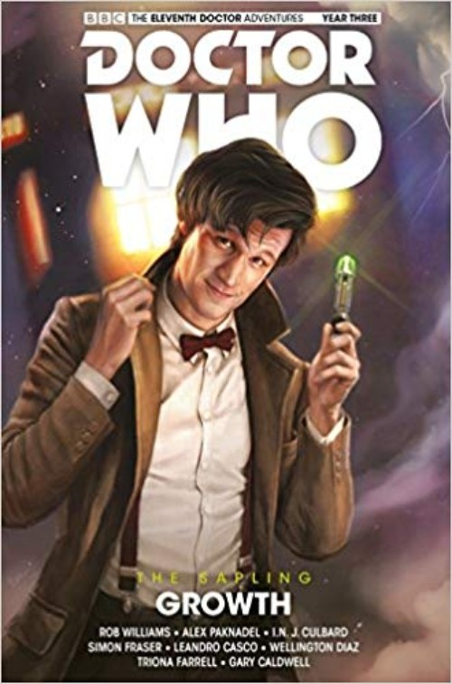 DOCTOR WHO: THE ELEVENTH DOCTOR--THE SAPLING VOL 01: GROWTH