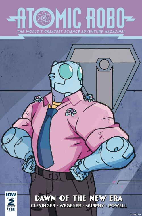 ATOMIC ROBO AND THE DAWN OF A NEW ERA#2
