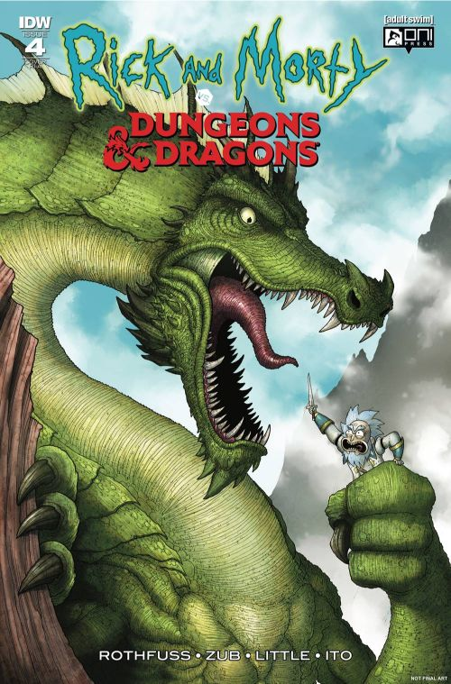 RICK AND MORTY VS. DUNGEONS AND DRAGONS#4