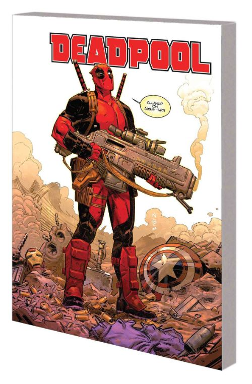 DEADPOOL BY SKOTTIE YOUNG VOL 01: MERCIN HARD FOR MONEY
