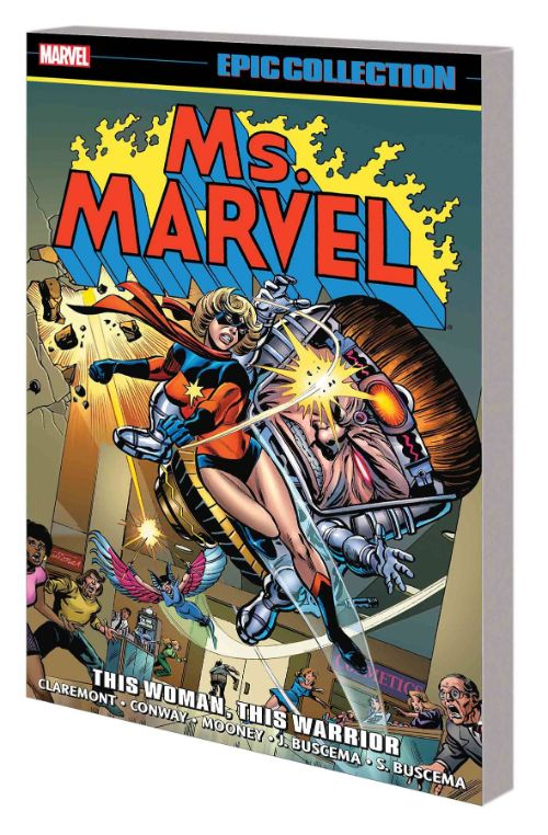 MS. MARVEL EPIC COLLECTIONVOL 01: WOMAN WARRIOR
