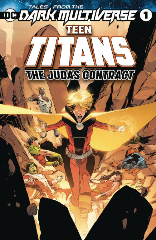 TALES FROM THE DARK MULTIVERSE: THE JUDAS CONTRACT#1