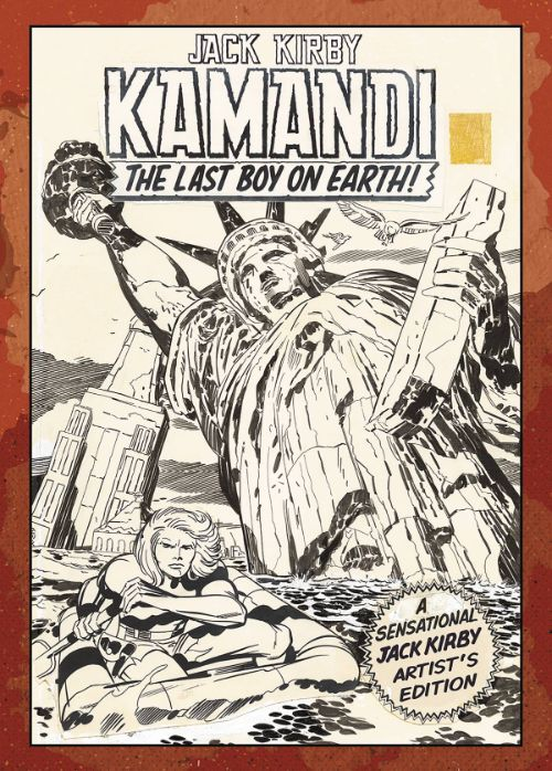 JACK KIRBY'S KAMANDI: THE LAST BOY ON EARTH ARTIST'S EDITIONVOL 01