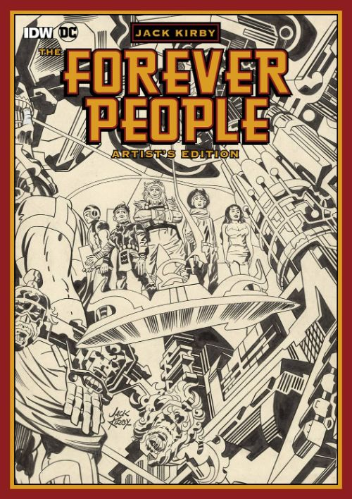 JACK KIRBY'S FOREVER PEOPLE ARTIST'S EDITION