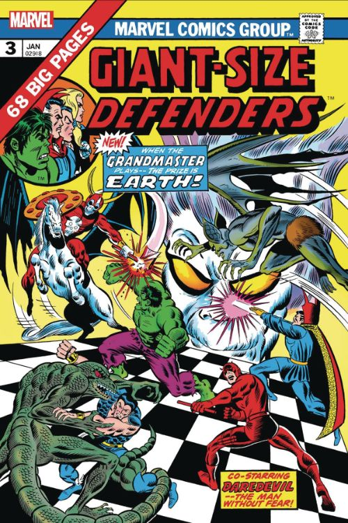 GIANT-SIZE DEFENDERS#3