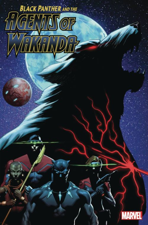 BLACK PANTHER AND THE AGENTS OF WAKANDA#4