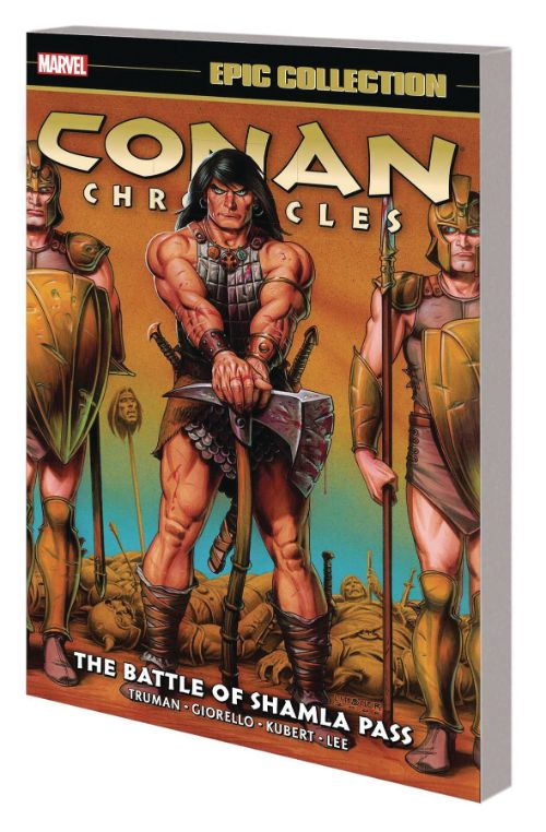 CONAN CHRONICLES EPIC COLLECTIONVOL 04: THE BATTLE OF SHAMLA PASS