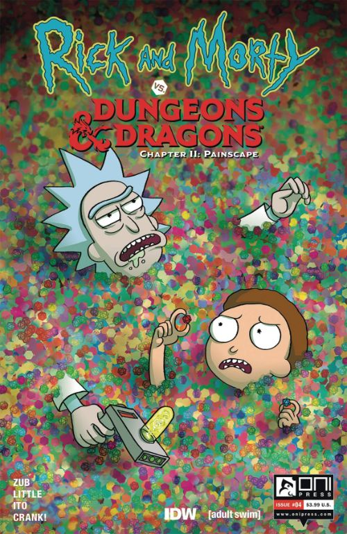 RICK AND MORTY VS. DUNGEONS AND DRAGONS II: PAINSCAPE#4