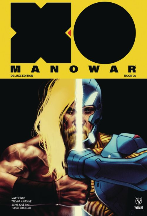 X-O MANOWAR BY MATT KINDT DELUXE EDITION VOL 02