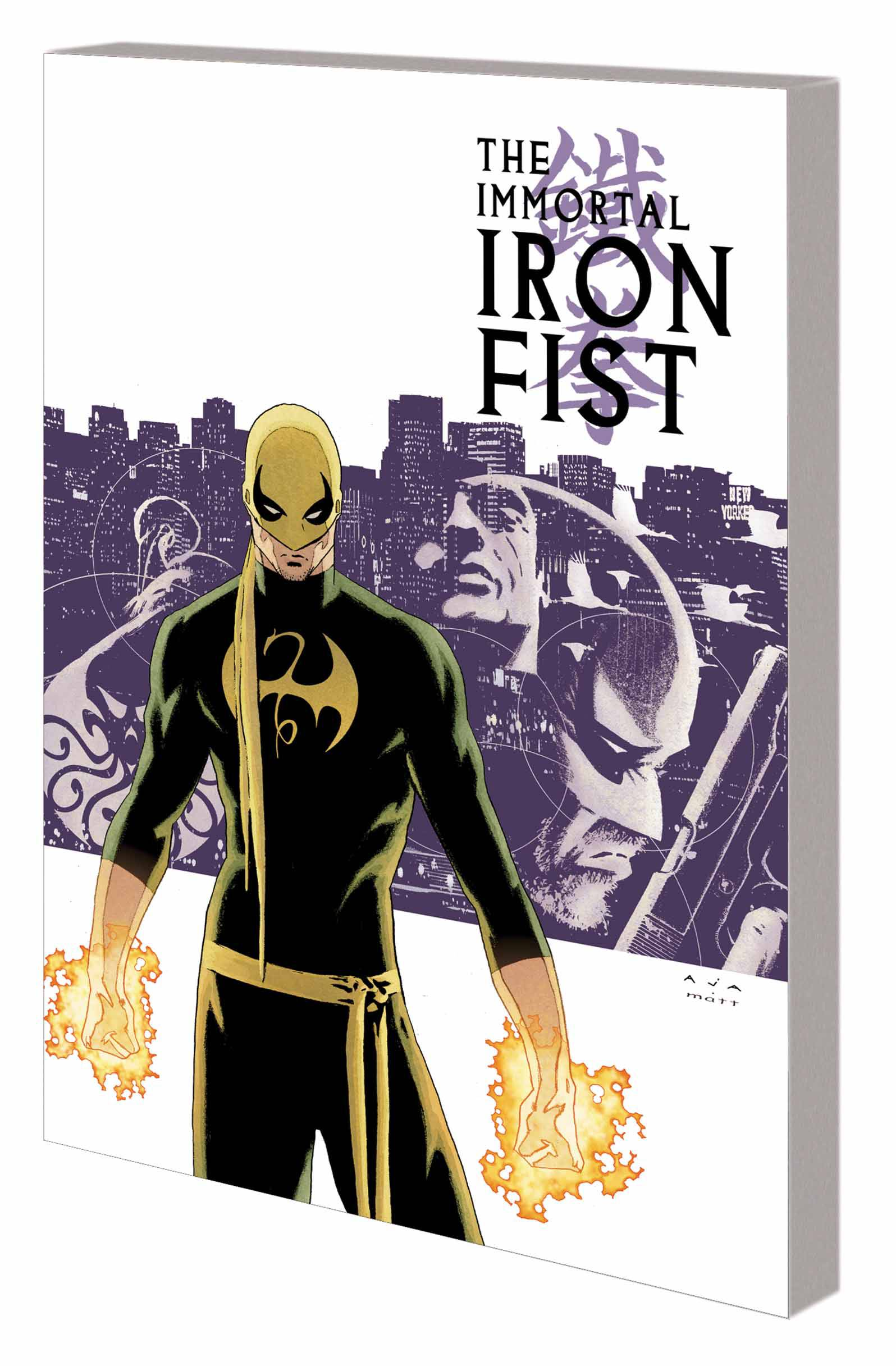 IMMORTAL IRON FIST: THE COMPLETE COLLECTION VOL 01