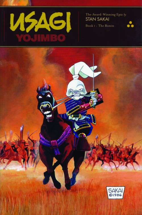 USAGI YOJIMBO BOOK 01: THE RONIN
