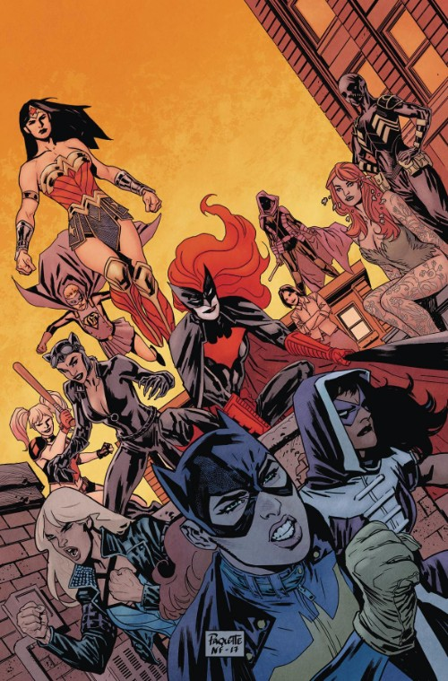 BATGIRL AND THE BIRDS OF PREY#16