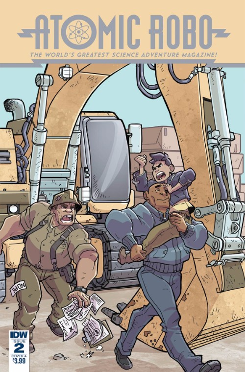 ATOMIC ROBO AND THE SPECTRE OF TOMORROW#2