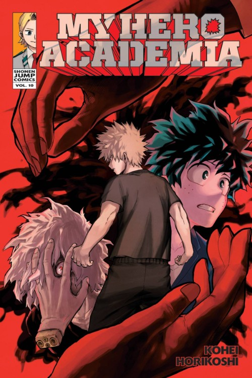 MY HERO ACADEMIA VOL 10