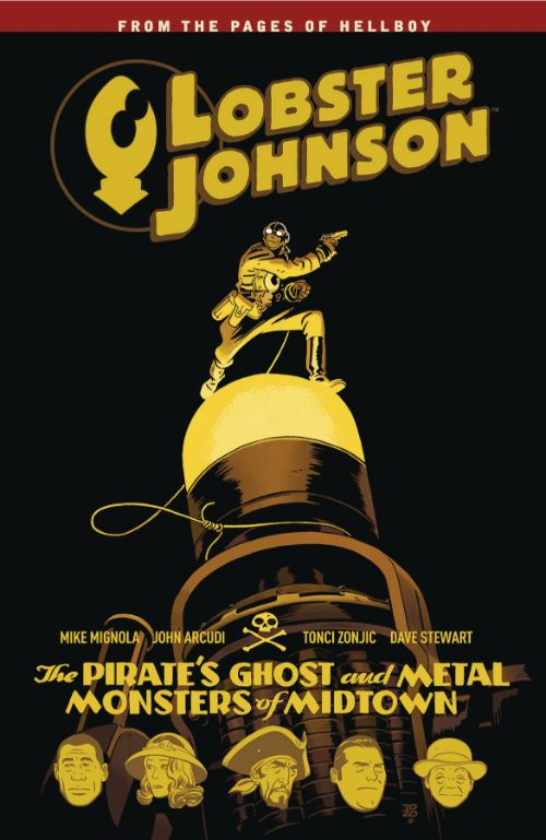 LOBSTER JOHNSONVOL 05: PIRATES GHOST