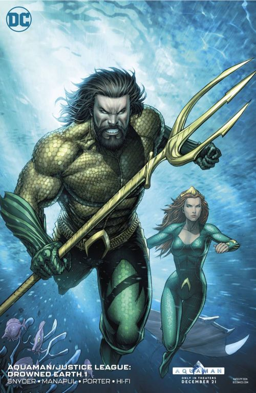 AQUAMAN/JUSTICE LEAGUE: DROWNED EARTH#1