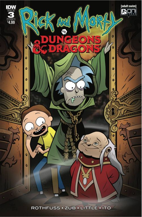 RICK AND MORTY VS. DUNGEONS AND DRAGONS#3