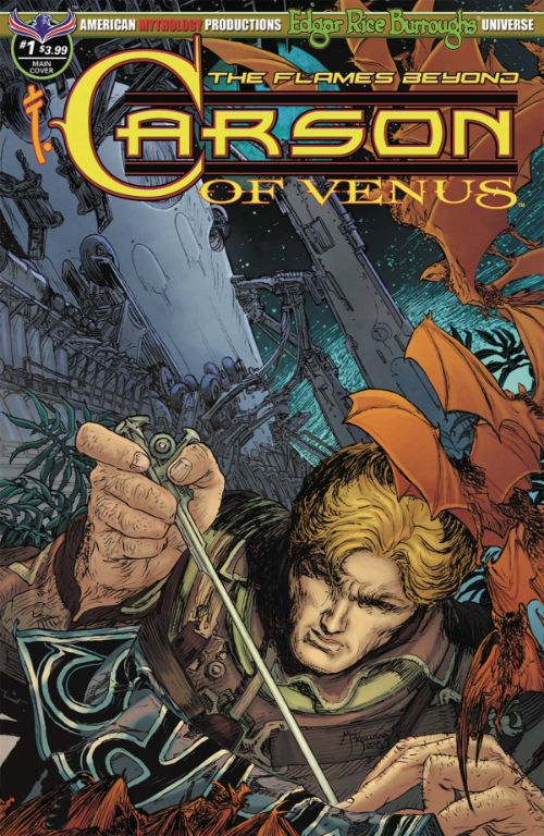 CARSON OF VENUS: THE FLAMES BEYOND#1