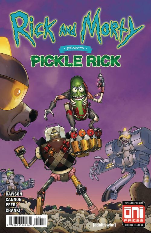 RICK AND MORTY PRESENTS: PICKLE RICK#1