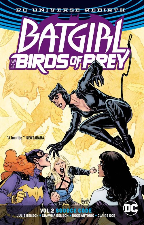 BATGIRL AND THE BIRDS OF PREYVOL 02: SOURCE CODE