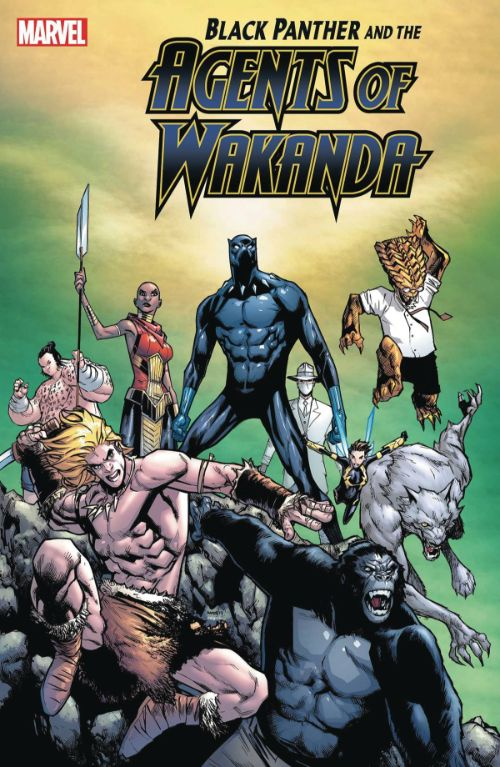 BLACK PANTHER AND THE AGENTS OF WAKANDA#3