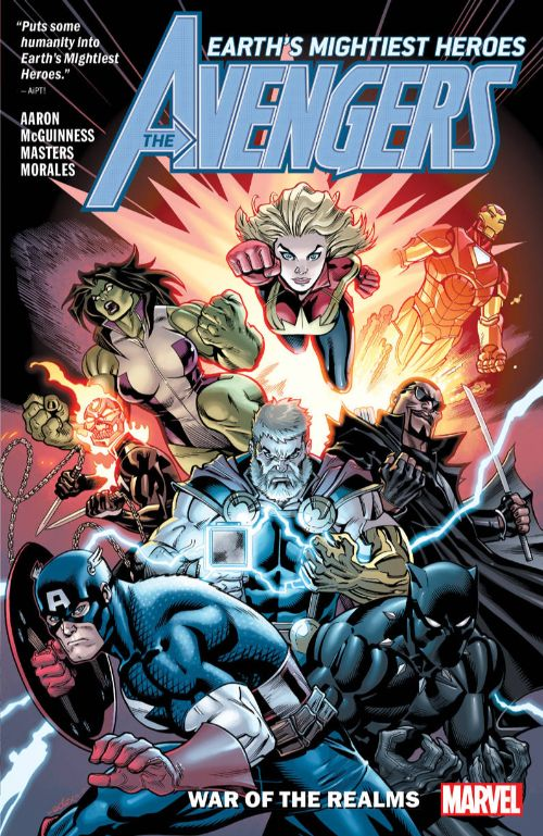 AVENGERS BY JASON AARON VOL 04: WAR OF THE REALMS