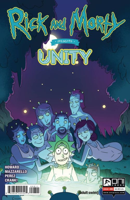 RICK AND MORTY PRESENTS: UNITY#1