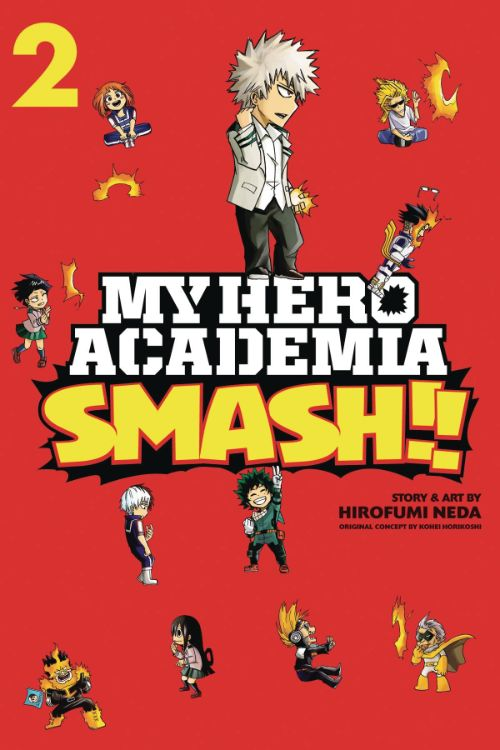 MY HERO ACADEMIA: SMASH!! VOL 02