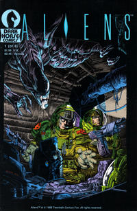 Key Issue cover 2 for ALIEN FRANCHISE