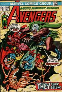 Key Storyline cover 1 for AVENGERS