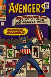 Key Issue cover 2 for AVENGERS