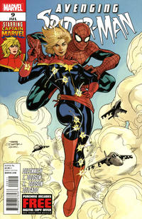 Key Issue cover 1 for CAPTAIN MARVEL (CAROL DANVERS)