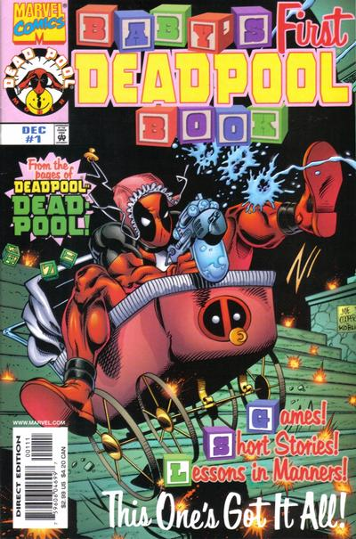 Key Issue cover 1 for DEADPOOL
