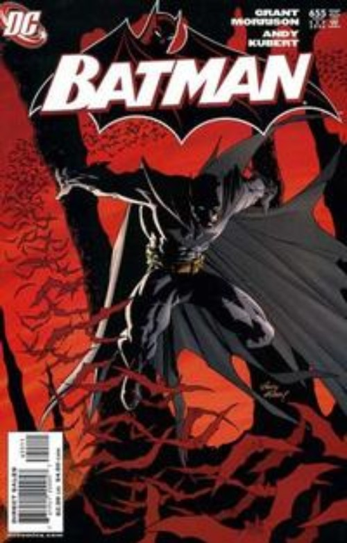 Key Storyline cover 3 for BATMAN