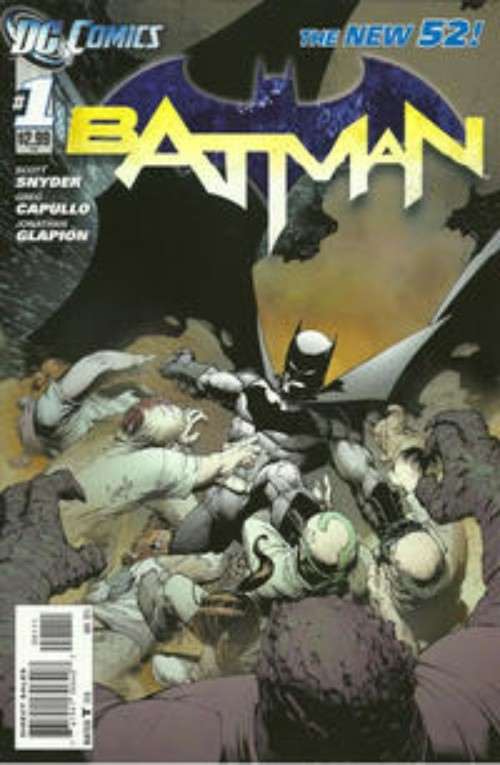Key Storyline cover 4 for BATMAN