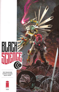 Key Issue cover 2 for BLACK SCIENCE