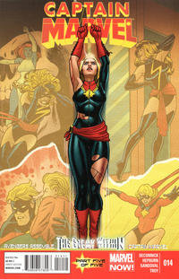 Key Issue cover 3 for CAPTAIN MARVEL (CAROL DANVERS)