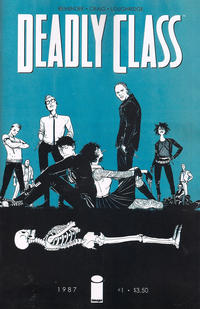 Key Issue cover 1 for DEADLY CLASS