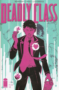 Key Issue cover 2 for DEADLY CLASS