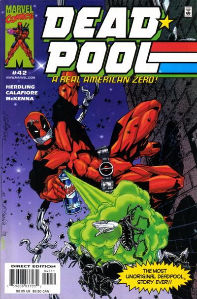 Key Issue cover 2 for DEADPOOL