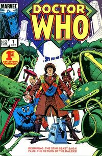 Key Issue cover 3 for DOCTOR WHO