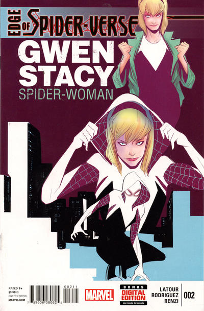 Key Issue cover 1 for SPIDER-GWEN