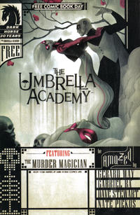 Key Issue cover 1 for UMBRELLA ACADEMY
